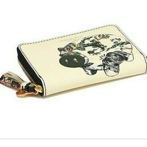 Tory Burch Peggy the pig coin purse
